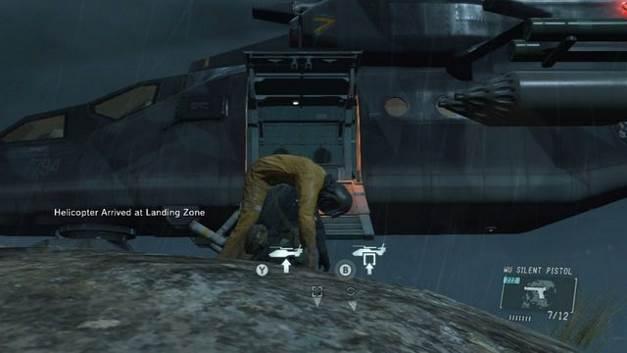 Leve o prisioneiro para o helicóptero - Libertem os prisioneiros - Passo a passo - Metal Gear Solid: V Zeroes terra - Guia de jogo e passo a passo