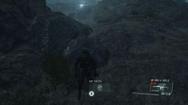 Remendo # 1 - manchas XOF - Metal Gear Solid V: Zeros terra - Guia do Jogo e Passo a passo