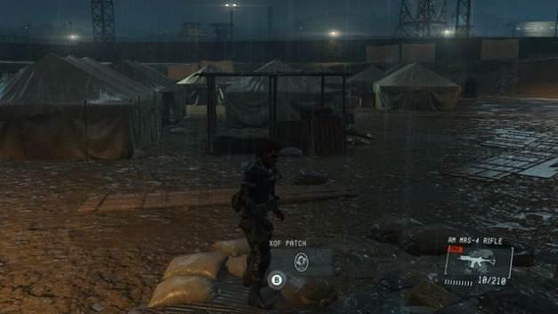 Remendo # 2 - manchas XOF - Metal Gear Solid V: Zeros terra - Guia do Jogo e Passo a passo