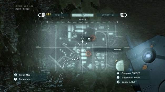 A localização do patch # 3 - manchas XOF - Metal Gear Solid: V Zeroes Ground - Guia do Jogo e Passo a passo