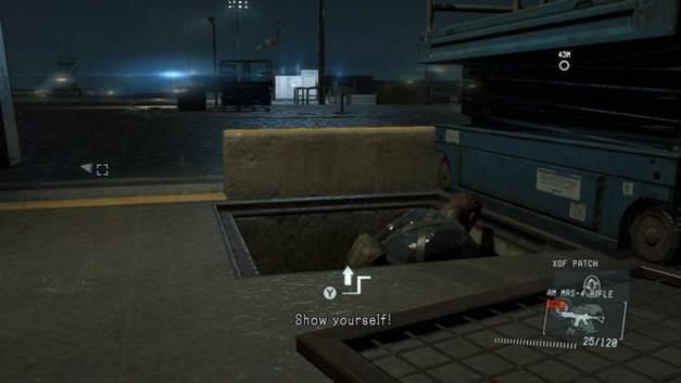 Remendo # 4 - manchas XOF - Metal Gear Solid V: Zeros terra - Guia do Jogo e Passo a passo