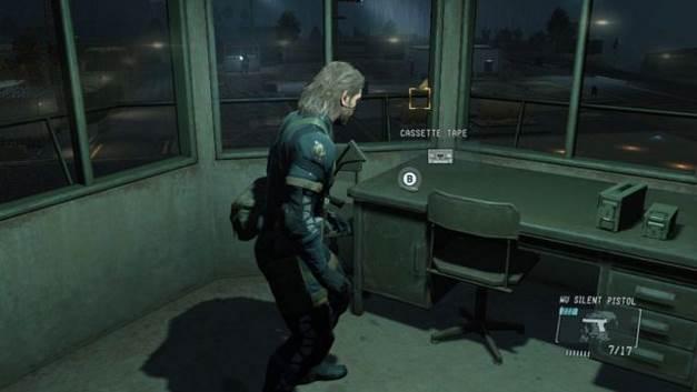 Fita Cassete # 2 - Zeros terra - fitas cassete - Metal Gear Solid: V Zeroes terra - Guia de jogo e passo a passo