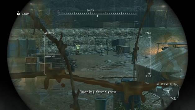 Fita Cassete # 4 - Zeros terra - fitas cassete - Metal Gear Solid: V Zeroes terra - Guia de jogo e passo a passo