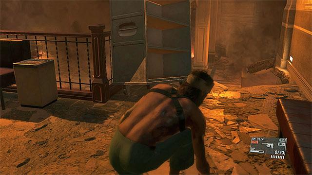 Leaving the hospital | Walkthrough - Metal Gear Solid V: The Phantom
