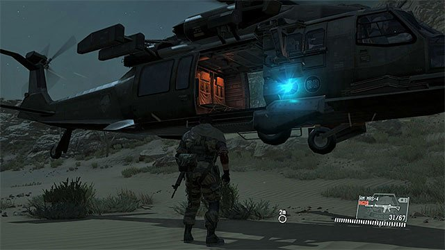 Mgsv Elicottero : Exfiltration after the mission exploring game s