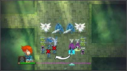 Afterwards move the second Zombie behind the head of the Bone Dragon and remove the Guard standing beside the head - Heresh - Battle puzzles - Might & Magic: Clash of Heroes - Game Guide and Walkthrough