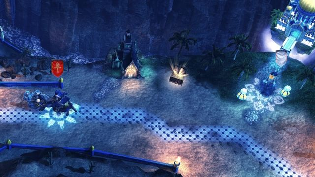 Use the shelter, to avoid enemy heroes. - True to Ourselves M21 | Stronghold - Stronghold - Might & Magic: Heroes VII Game Guide & Walkthrough