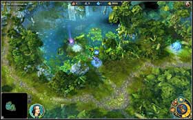 Searching this place is a good idea - 1st mission - The Fury and the Mire - Campaign - Might & Magic: Heroes VI Game Guide