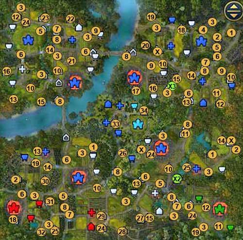 Heroes 6 карты