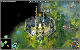 Elizabeth is held in enemys castle - 1st mission - In the Wake of Adversality - Campaign - Might & Magic: Heroes VI - Game Guide and Walkthrough