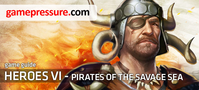 Pirates of the Savage Sea, an adventure pack to the Heroes VI allows us to play as a legend of the Might and Magic universe: the Crag Hack, barbarian - Heroes VI - Pirates of the Savage Sea - Game Guide and Walkthrough