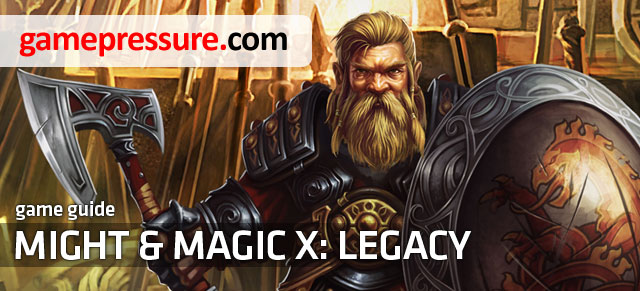This guide contains a description of completing main and side quests available in Might & Magic X: Legacy, along with many screens presenting the gameplay - Might & Magic X: Legacy - Game Guide and Walkthrough