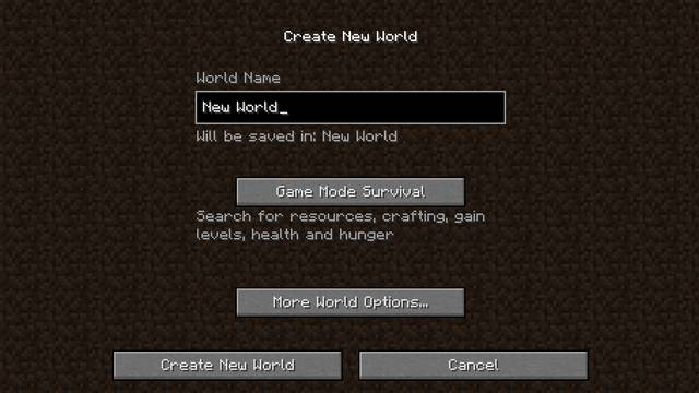 world creation