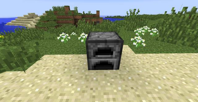 Furnace | Crafting - basic tools - Minecraft Game Guide