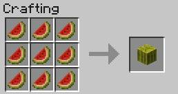 Food crafting recipes minecraft game guide gamepressure converting the melon into the form of a block food crafting recipes forumfinder Gallery