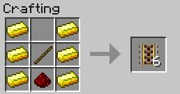 minecraft how to make a long minecart track