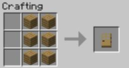Construction elements and equipment   Crafting - Recipes - Minecraft