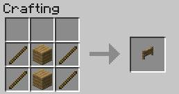 Construction elements and equipment Crafting Recipes Minecraft