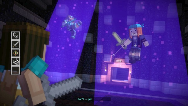 Now you will face another important choice - Chapter 4 - Walkthrough -  Minecraft: Story
