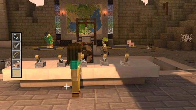 Ответы@Mail.Ru: MineCraft: Story Mode Episode 1 Какая ...