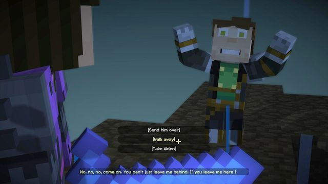 Important Choices Episode 5 Order Up Minecraft Story Mode