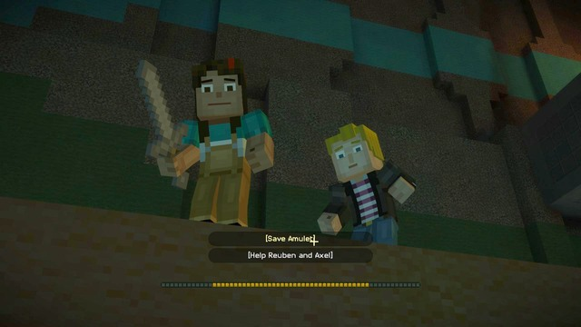 minecraft story mode lukas death