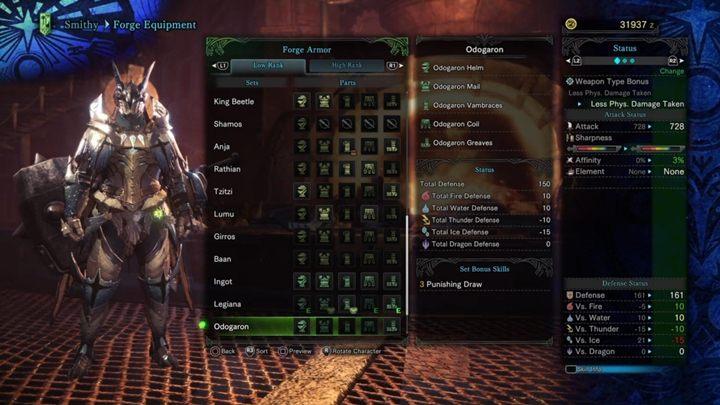 Armors Low Rank In Monster Hunter World Monster Hunter World