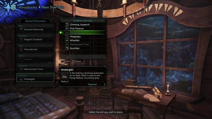 How to get a better room in Astera in Monster Hunter World