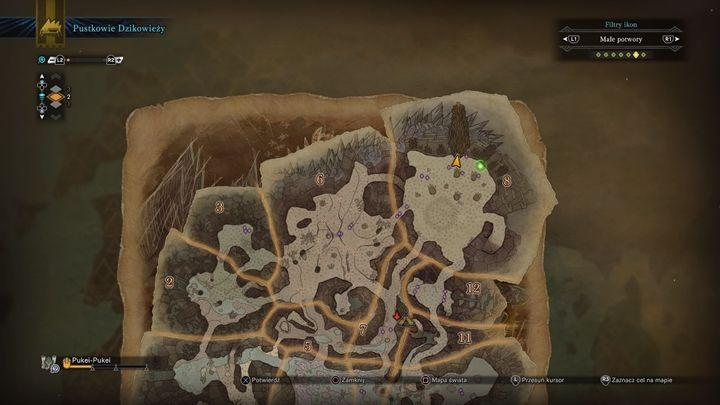 Jump into the hole right here. - How to unlock all gadgets for the Palico in Monster Hunter World? - FAQ - Monster Hunter World Game Guide