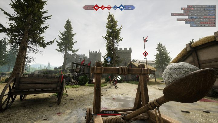 Catapult can shoot projectiles at long distances. - How to use siege machines in Mordhau? - Combat - Mordhau Guide and Tips