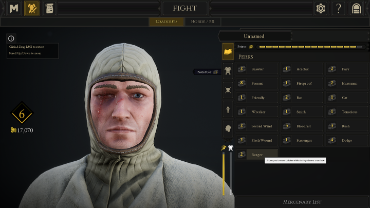 Character Creation and Weapon Selection in Mordhau - Mordhau