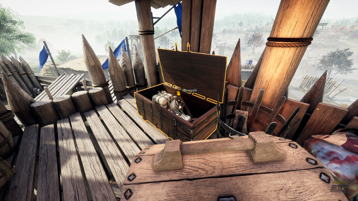 You can restock your Toolbox near Ammo Boxes. - How to use Toolbox in Mordhau? - FAQ - Mordhau Guide and Tips