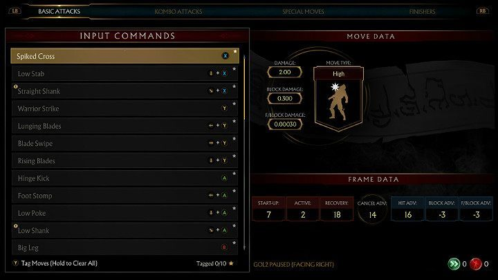 The Frame system is a vital element of Mortal Kombat 11 - Frame System in Mortal Kombat 11 - Combat guide - Mortal Kombat 11 Guide and Tips