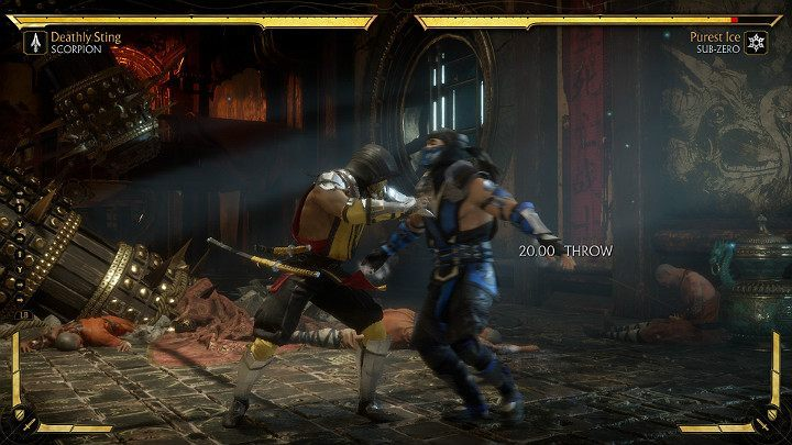 In Mortal Kombat 11, you can perform a throw in two ways: with a separate button responsible for the throw or by simultaneously pressing a combination of two buttons, for example, 1+3 - Throws in Mortal Kombat 11 - Combat guide - Mortal Kombat 11 Guide and Tips