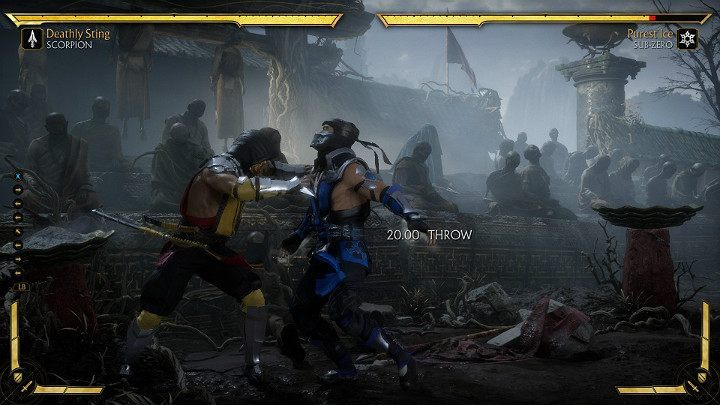 Throws in Mortal Kombat 11 - Mortal Kombat 11 Guide and Tips