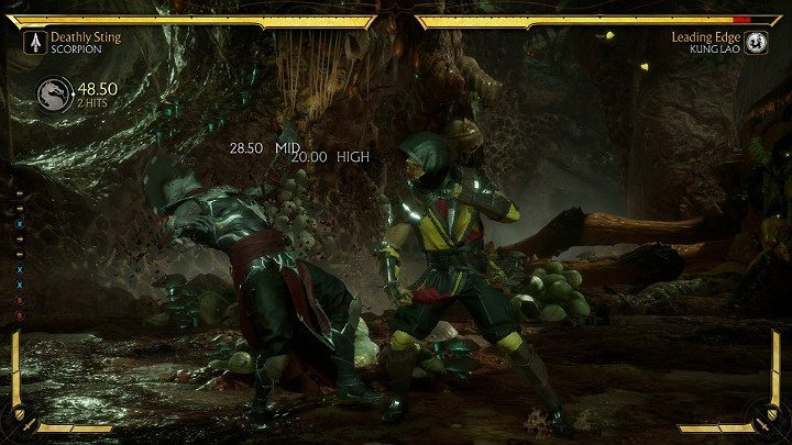 Combos in Mortal Kombat 11 are not easy to perform and they require a lot of practice - Combos in Mortal Kombat 11 - Combat guide - Mortal Kombat 11 Guide and Tips