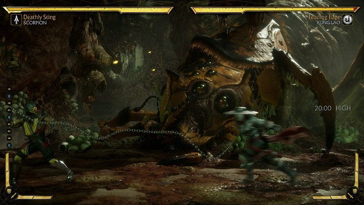 In Mortal Kombat 11, all attacks that have capture state which limits the movements of the enemy will look different when using them twice in a row - Combos in Mortal Kombat 11 - Combat guide - Mortal Kombat 11 Guide and Tips