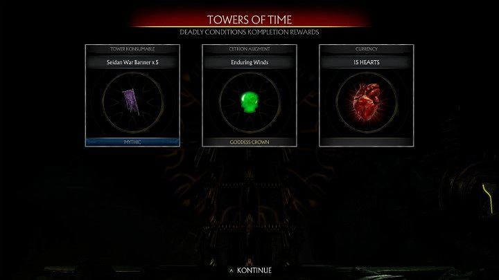 Towers of Time are great for farming Hearts - How to get Hearts fast in Mortal Kombat 11? - Basics - Mortal Kombat 11 Guide and Tips