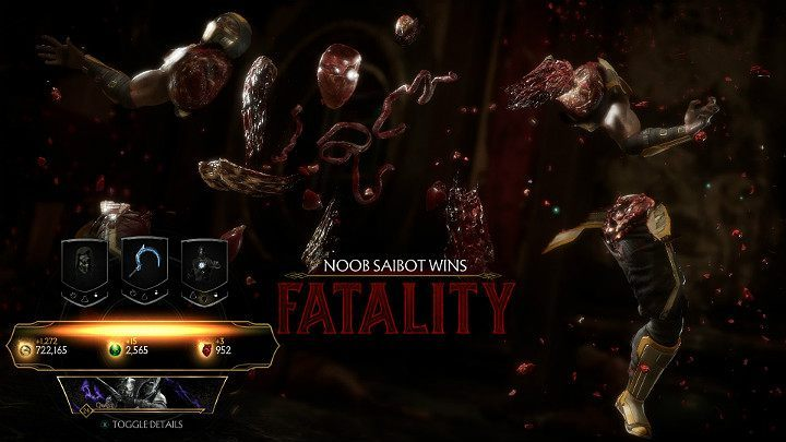 Another method to get Hearts in Mortal Kombat 11 is to perform Fatalities - How to get Hearts fast in Mortal Kombat 11? - Basics - Mortal Kombat 11 Guide and Tips