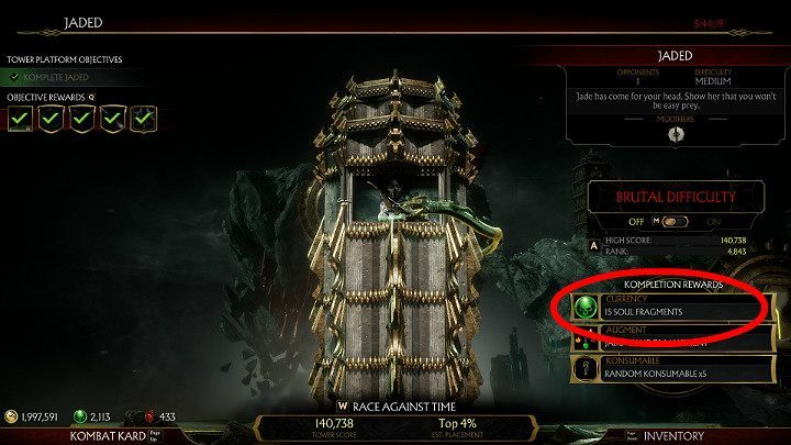 How to get Souls Fragments fast in Mortal Kombat 11