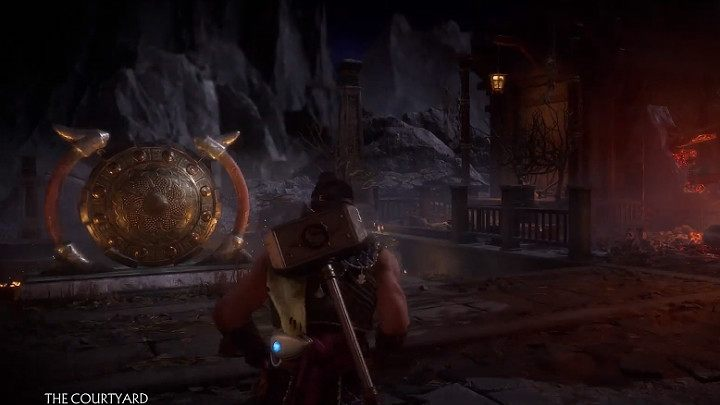 Use Shao Kahns hammer to hit the Gong in the Courtyard and in the Warriors Shrine and you will gain additional 25 - How to quickly gain resources in Mortal Kombat 11? - Basics - Mortal Kombat 11 Guide and Tips