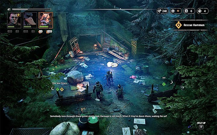 The area outside of the bunker does not contain any opponents, so you dont need to sneak - The Rot Warren | Mutant Year Zero Road to Eden World Atlas - World Atlas - Mutant Year Zero Road to Eden Guide
