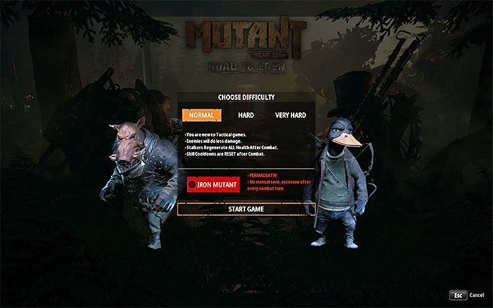 This method depends on the level of difficulty of the game - How to heal team members in Mutant Year Zero? - FAQ - Mutant Year Zero Road to Eden Guide