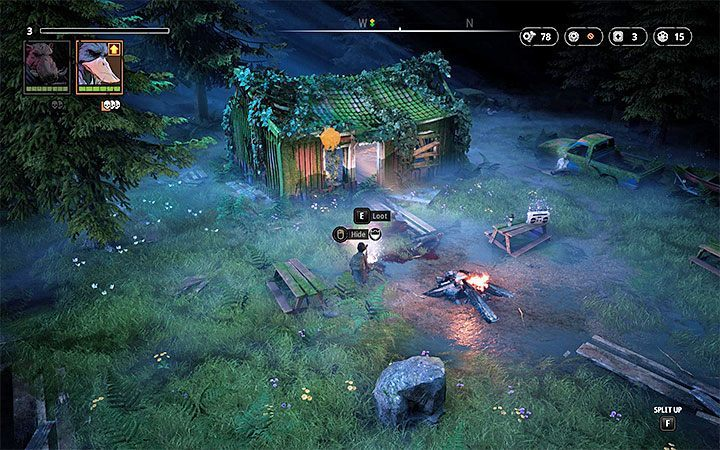 Enemies - Marauder (level 1), Hunter (level 1), Butcher (level 1) - East Outpost | Mutant Year Zero Road to Eden World Atlas - World Atlas - Mutant Year Zero Road to Eden Guide