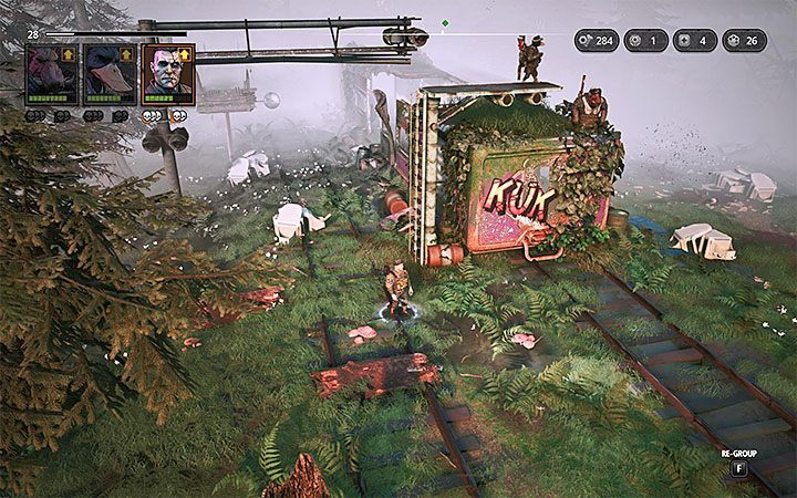 Defeating enemies from the railway station will not solve the problem, because at the end of the railway track there is a group of dogs, including a stronger individual - Mother Zone Dog - The Iron Serpent | Mutant Year Zero Road to Eden World Atlas - World Atlas - Mutant Year Zero Road to Eden Guide