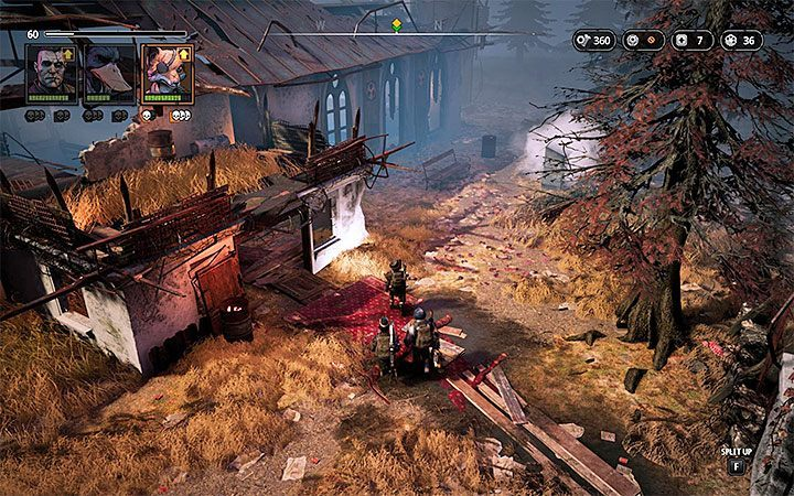 Enemies - Sect Hunter (level 35), Cardinal Hansen (level 35), Sect Butcher (level 35), Sect Pyro (level 35), Mimir Z200 (level 35), Mimir Z600 (level 35), Sect Tank (level 35) - Spear of Heaven | Mutant Year Zero Road to Eden World Atlas - World Atlas - Mutant Year Zero Road to Eden Guide