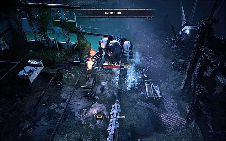 The Z600 mech isnt much of a threat - Grave of the Ancients | Mutant Year Zero Road to Eden World Atlas - World Atlas - Mutant Year Zero Road to Eden Guide