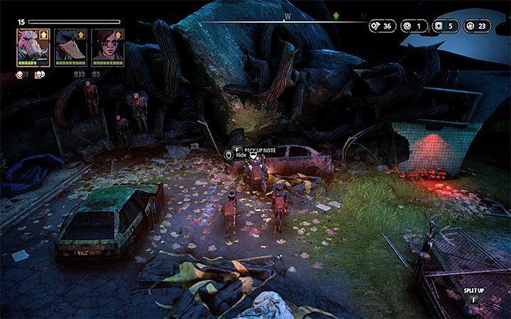 Cave of Fear location - Notes in Mutant Year Zero Road to Eden - Secrets - Mutant Year Zero Road to Eden Guide