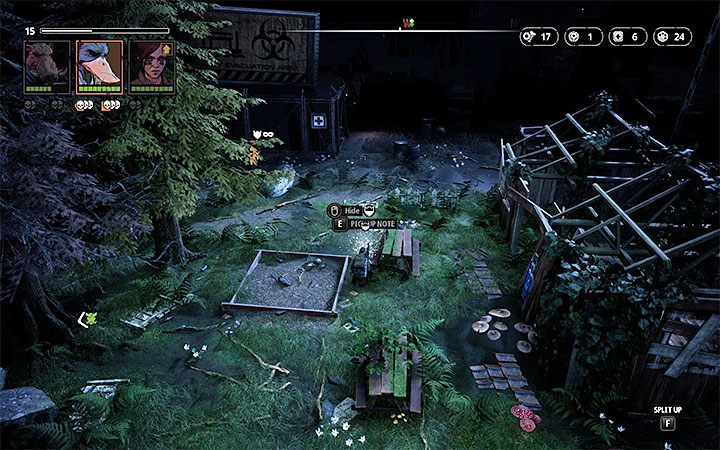 The Sea Titans location - Notes in Mutant Year Zero Road to Eden - Secrets - Mutant Year Zero Road to Eden Guide