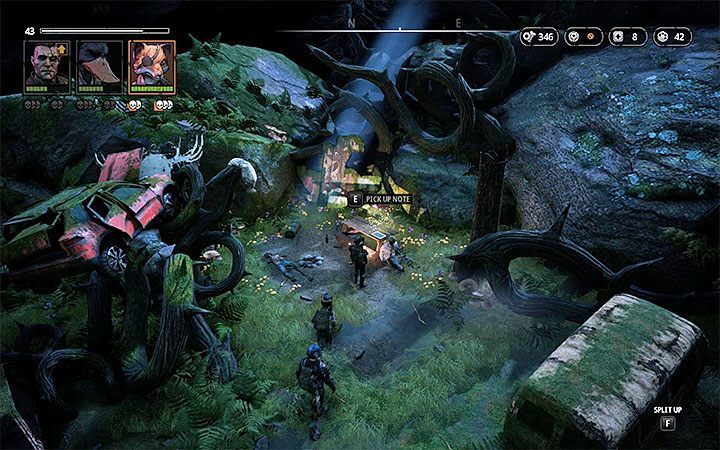 Location: Lair of the Horned Devil - Notes in Mutant Year Zero Road to Eden - Secrets - Mutant Year Zero Road to Eden Guide